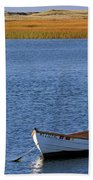 Cape Cod Charm Hand Towel by Juergen Roth