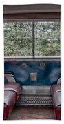 Trans Siberian Express Bath Sheet by Trever Miller
