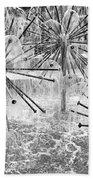 White Noise Generator Bath Towel by Trever Miller