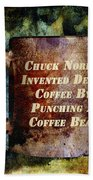 Gritty Chuck Norris 2 Hand Towel by Angelina Vick