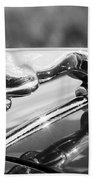 Leaping Jaguar Bath Towel by Sebastian Musial