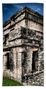 Tulum Ruinas 1 Bath Sheet by Skip Hunt