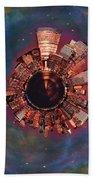 Wee Manhattan Planet Bath Sheet by Nikki Marie Smith