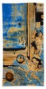 Blues Dues Bath Sheet by Skip Hunt