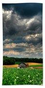 Brooding Sky Bath Sheet by Lois Bryan