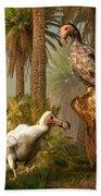 Dodo Hide N Seek Bath Towel by Daniel Eskridge