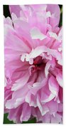 Peony Perfection Bath Towel by Angelina Vick