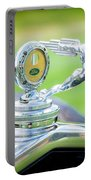 1931 Ford Model A Deluxe Fordor Hood Ornament Portable Battery Charger by Sebastian Musial