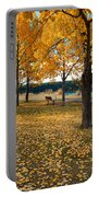 Autumn In Calgary Portable Battery Charger by Trever Miller