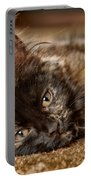 Coco Kitten Portable Battery Charger by Trever Miller