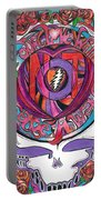 Not Fade Away Portable Battery Charger by Kevin J Cooper Artwork