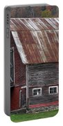 Vermont Barn Art Portable Battery Charger by Juergen Roth