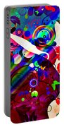 Wondrous At The End Of The Rainbow Portable Battery Charger by Angelina Vick