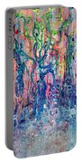 Dream Of Our Souls Awake Portable Battery Charger by Regina Valluzzi