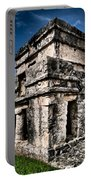 Tulum Ruinas 1 Portable Battery Charger by Skip Hunt