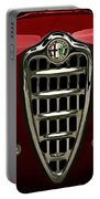 Alfa Red Portable Battery Charger by Douglas Pittman