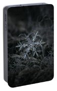 Snowflake 2 Of 19 March 2013 Portable Battery Charger by Alexey Kljatov
