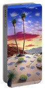 Desert Sunrise Portable Battery Charger by Snake Jagger