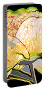 Here Today And Gone Tomorrow Triptych Portable Battery Charger by Angelina Vick