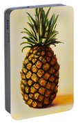 Pineapple Angel Portable Battery Charger by Shannon Grissom