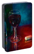Zinfandel Portable Battery Charger by Shannon Grissom