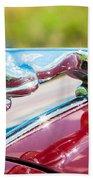 Leaping Jaguar Beach Towel by Sebastian Musial