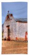 Cowboy Church Beach Towel by Tap On Photo