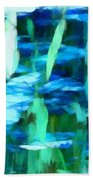 Float 2 Horizontal Beach Towel by Angelina Vick