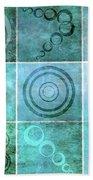 Orb Ensemble 1 Beach Sheet by Angelina Vick