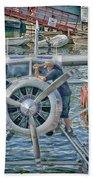 Windshield Wiper Beach Sheet by Trever Miller