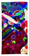 Wondrous At The End Of The Rainbow Beach Towel by Angelina Vick