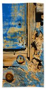 Blues Dues Beach Towel by Skip Hunt