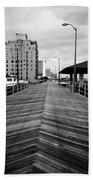 The Boardwalk Beach Sheet by Linda Sannuti
