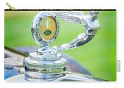 1931 Ford Model A Deluxe Fordor Hood Ornament Carry-all Pouch by Sebastian Musial