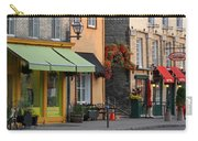Arch Of Flowers In Old Quebec City Carry-all Pouch by Juergen Roth