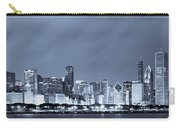 Chicago In Blue Carry-all Pouch by Sebastian Musial