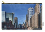 Chicago River Carry-all Pouch by Sebastian Musial