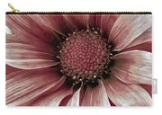 Daisy Daisy Blush Pink Carry-all Pouch by Angelina Vick