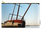 Derelict Faux Tall Ship Carry-all Pouch by Trever Miller