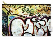 Girls Tag Too Carry-all Pouch by Trever Miller