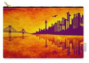 It Was Us That Scorched The Sky Carry-all Pouch by Angelina Vick