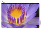 My Soul Dressed In Silence Carry-all Pouch by Sharon Mau