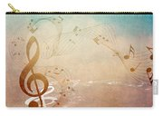 Please Dont Stop The Music Carry-all Pouch by Angelina Vick