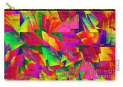 Rainbow Bliss 2 - Twisted - Painterly H Carry-all Pouch by Andee Design