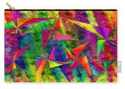 Rainbow Bliss - Pin Wheels - Painterly - Abstract - H Carry-all Pouch by Andee Design
