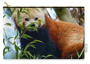 Red Panda Carry-all Pouch by Trever Miller