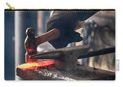 Strike While The Iron Is Hot Carry-all Pouch by Trever Miller