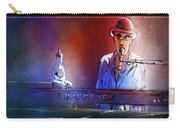 The Pianist 02 Carry-all Pouch by Miki De Goodaboom