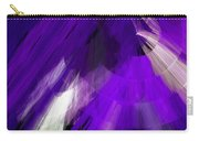 Tutu Stage Left Abstract Purple Carry-all Pouch by Andee Design