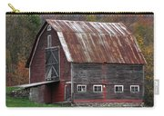 Vermont Barn Art Carry-all Pouch by Juergen Roth